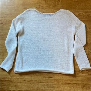 Lord + Taylor White Sweater size Small